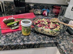 Citrus Beet & Black Bean Quinoa Bowl - Engine 2 Meal Planner