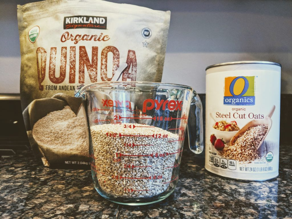 Steel Cut Oats and Quinoa - Measure